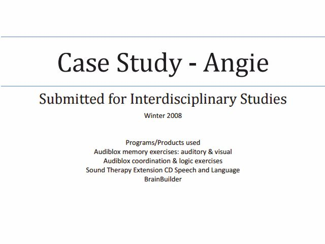 memory deprivation claim study